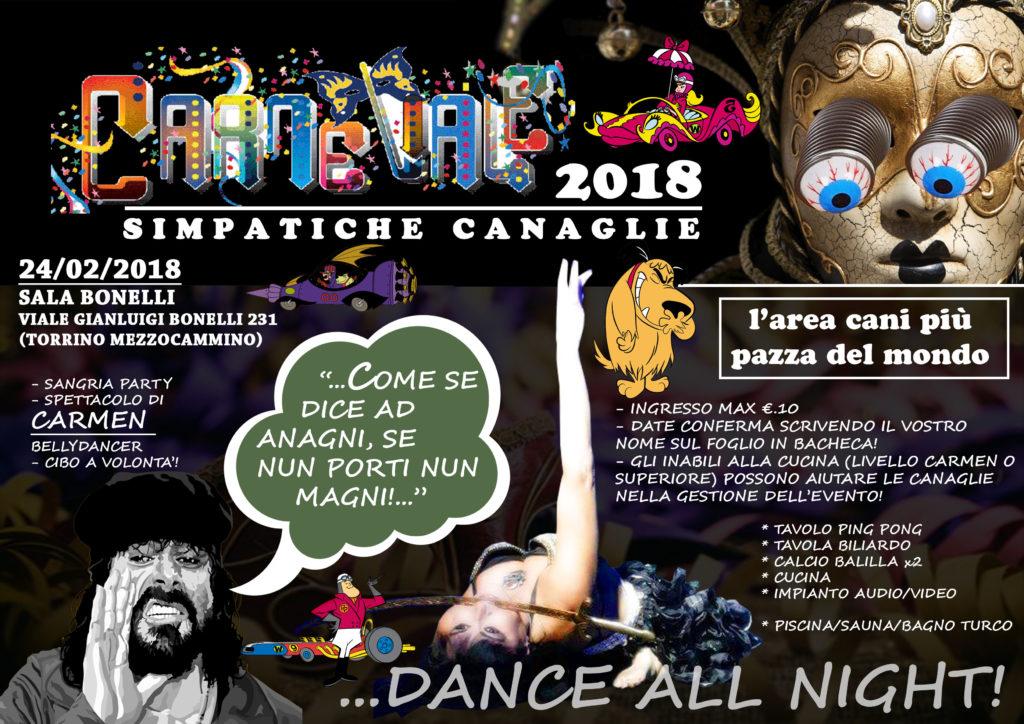 festa di carnevale 2018